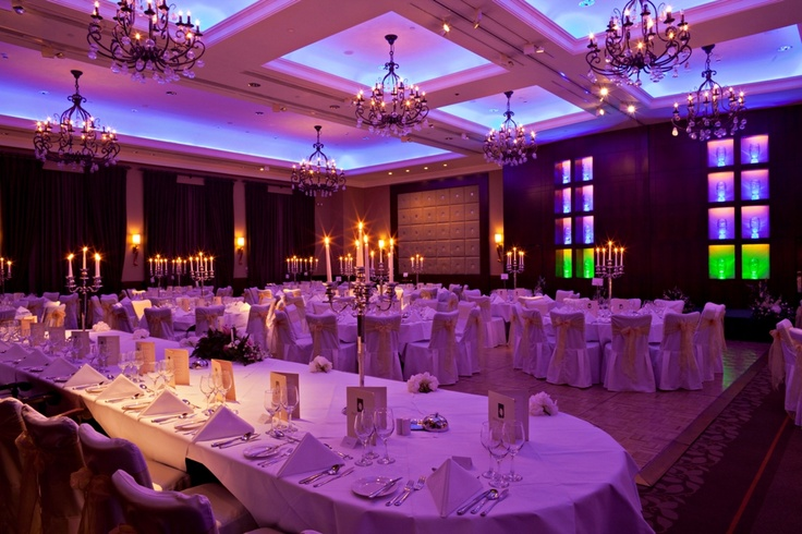 All the preparations are complete before a wedding in the fabulous Smith-Barry Suite at Fota Island Resort.