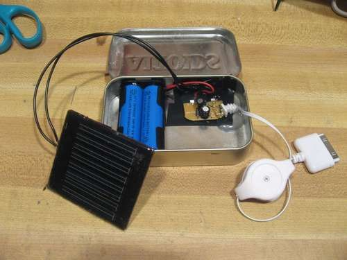 DIY Solar phone charger. Bomb diggity!