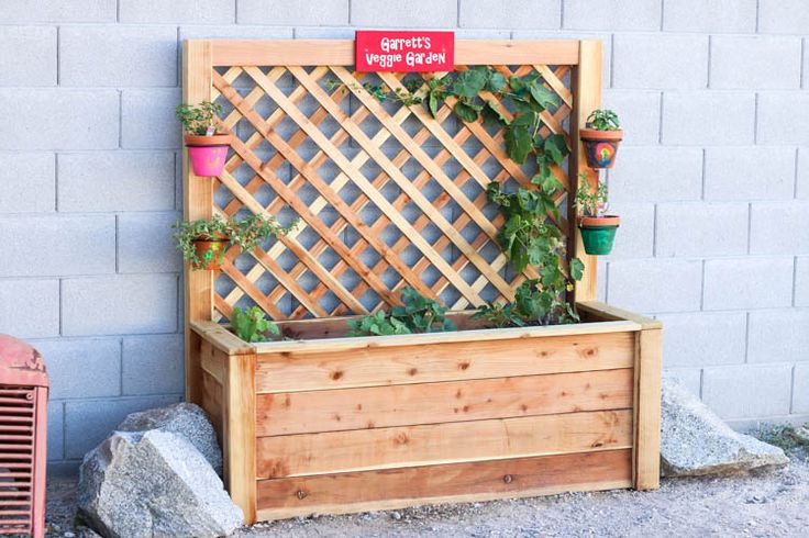 How To Build A Kid's Garden (Plus a $300 RYOBI Power Tools Giveaway)