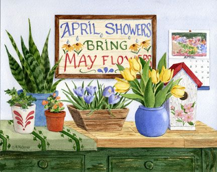 """""""April Showers"""" by Maureen McCarthy"""