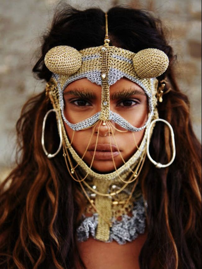 Aboriginal girl.
