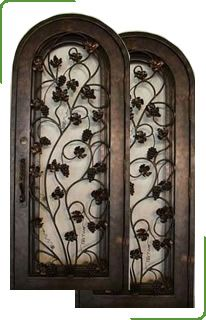 Арочные двери — эксклюзивная защита