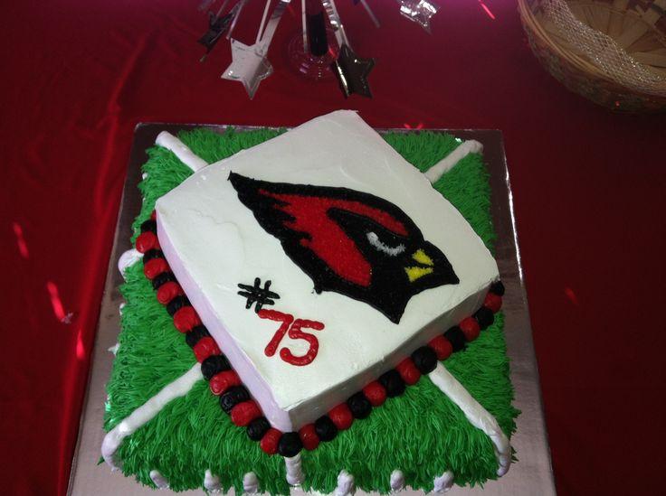 Az Cardinals Birthday Cake