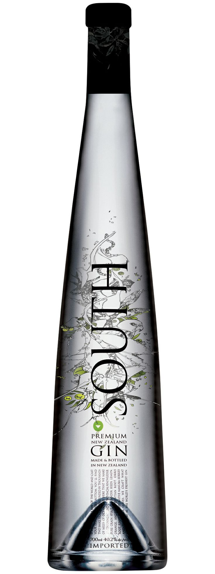 South Gin - 40.2% New Zealand | LBV ♥✤ | KeepSmiling | BeStayElegant