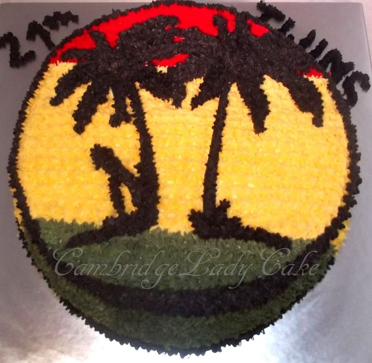 Caribbean cake