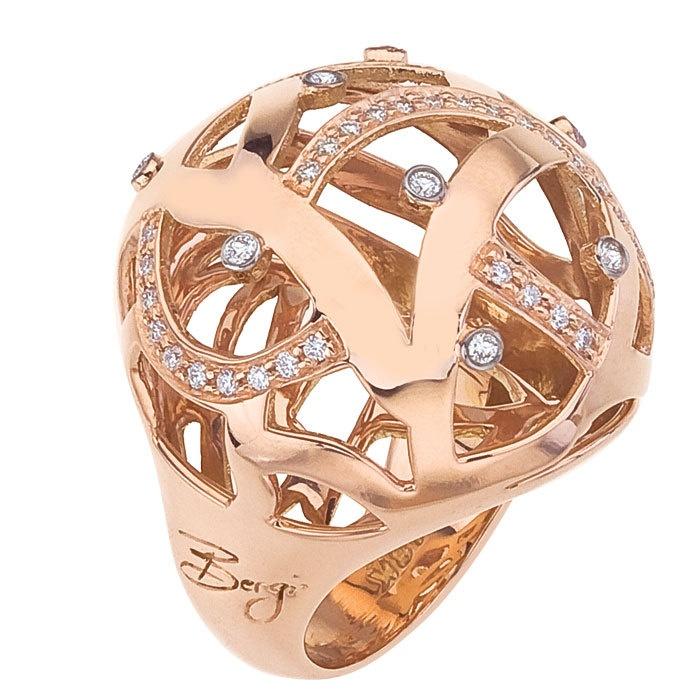 Diamond Jewellers :: Safari Round Dome Ring