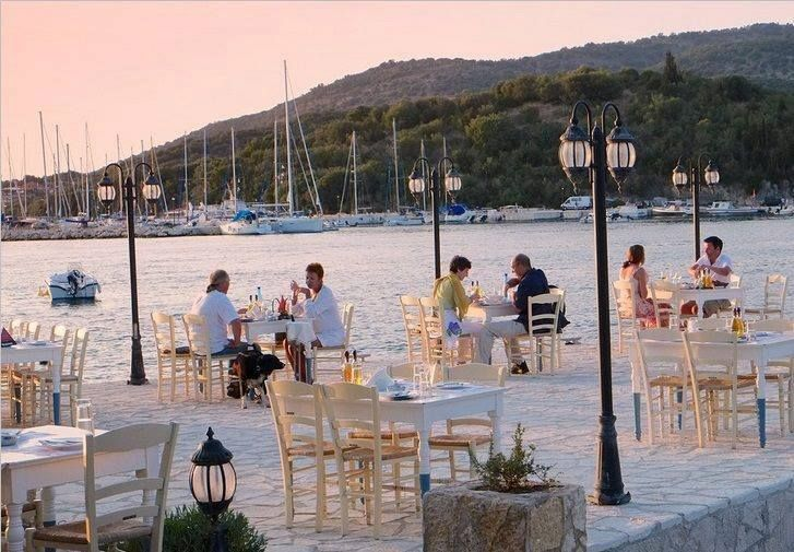 Dining at Syvota, Thesprotia - Western Greece
