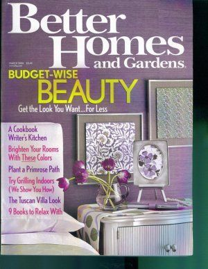 17 best images about for sale gardening magazine back issues on pinterest gardens fire pits Better homes and gardens march