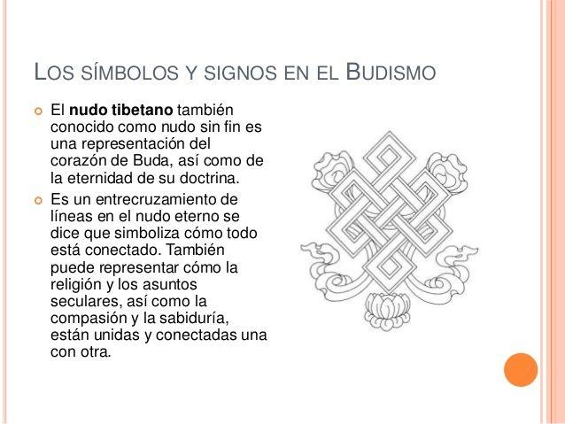 Resultado de imagen para simbolos significado del budismo nudos