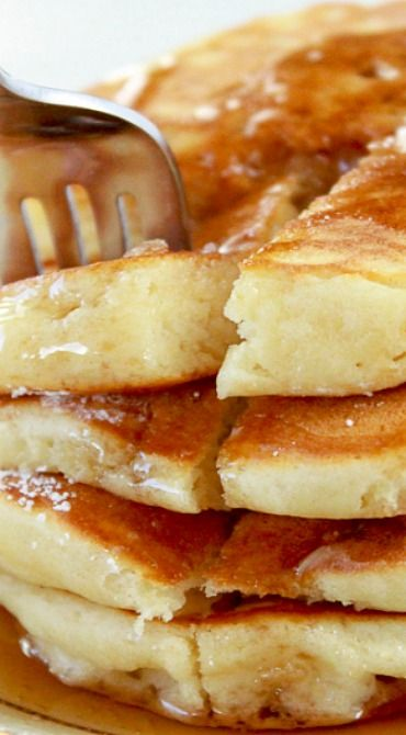 how to make perfect fluffy pancakes from scratch