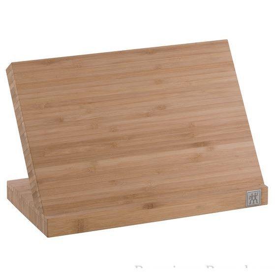 Zwilling Knivblok i bambus til (magnetisk) til 5 - 6 knive. - Køkkenmagasinet