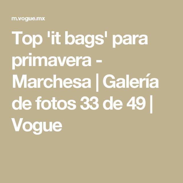Top 'it bags' para primavera - Marchesa | Galería de fotos 33 de 49 | Vogue