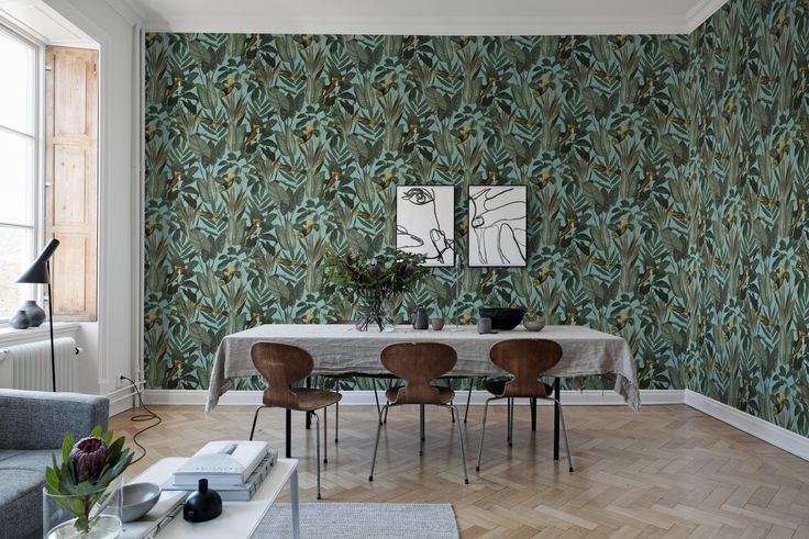 21 best Behang, Wallcovering images on Pinterest Accent walls