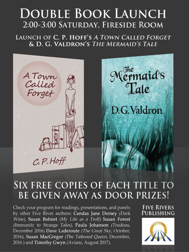 Book Launch at When Words Collide 2016