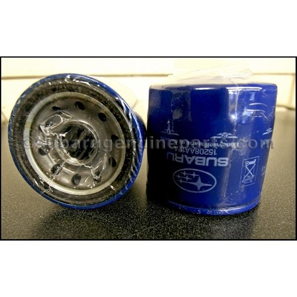 Blue OEM 2.5L Oil Filter + crush rings *6 pack* - Non-Turbo