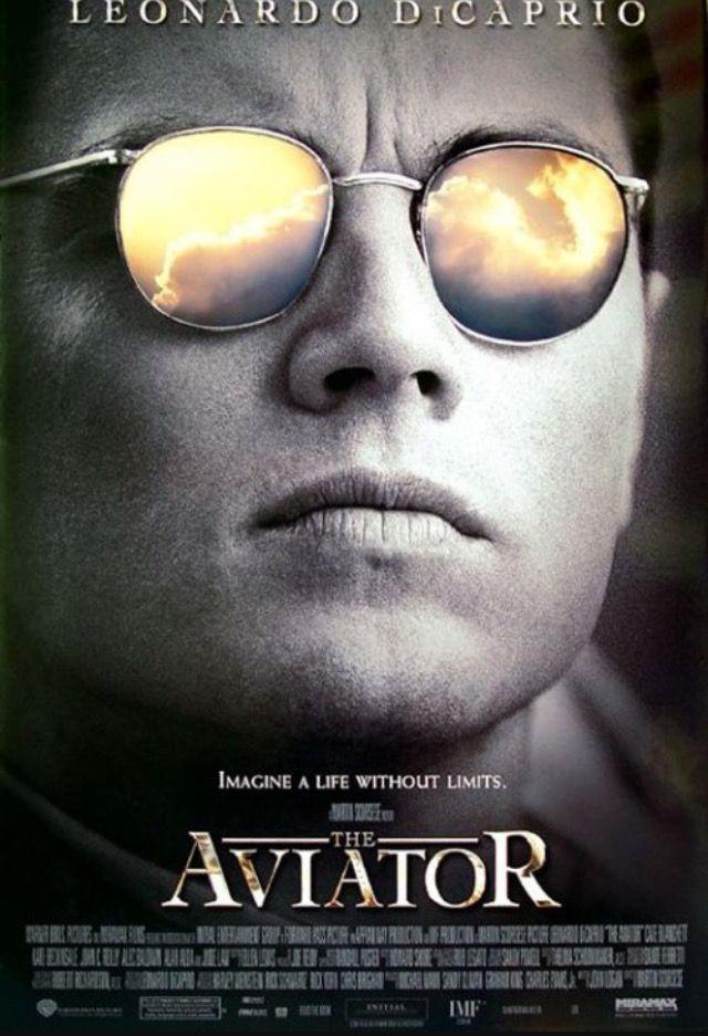 #Cartel de #ElAviador #MartinScorsese #LeoDiCaprio