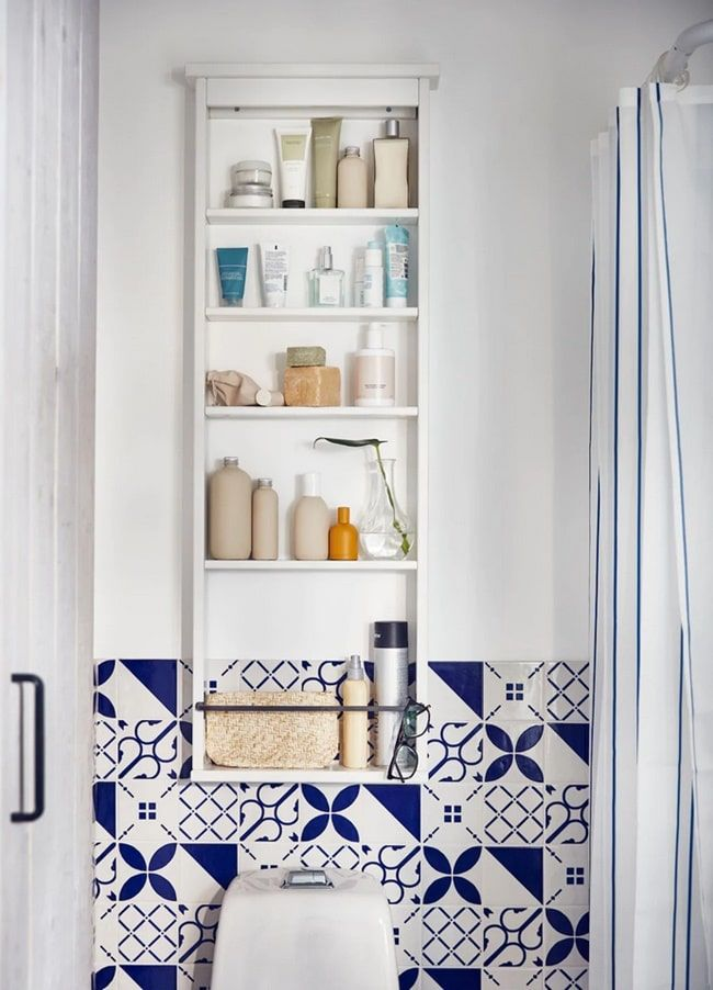 armario de pared para baños ikea
