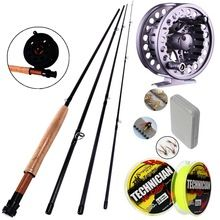 4 Sections Fly Fishing Rod Set 2.7M #5/6 Fly Rod and Reel Combo and Gift Set Fishing Tackle  $US $40.49 & FREE Shipping //   https://fishinglobby.com/4-sections-fly-fishing-rod-set-2-7m-56-fly-rod-and-reel-combo-and-gift-set-fishing-tackle/    #fishingreels