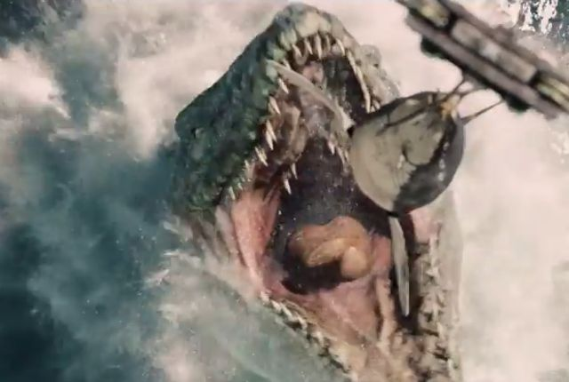 The Jurassic World trailer recently debuted. Here it is, with a handy guide to all the prehistoric critters it promises. - A Handy Guide to the Creatures in the 'Jurassic World' Trailer | Mental Floss
