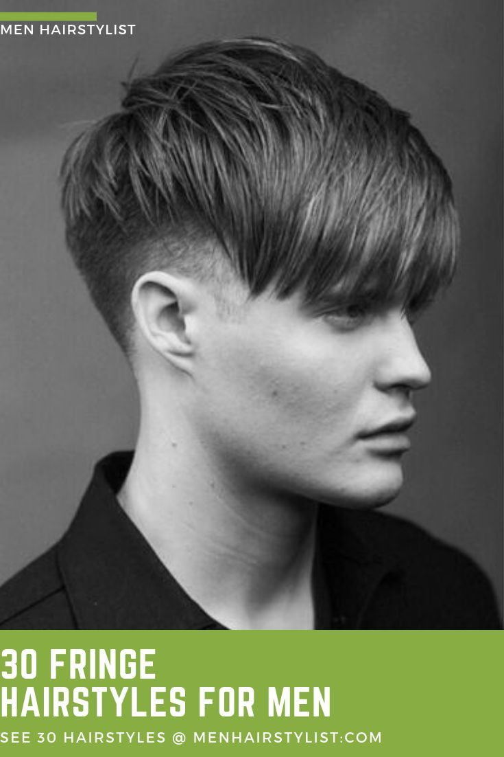 This is another example of the fringe hairstyle that covers all your forehead but will make you look very hot if get a clean shave  #menhairstyle #fri...