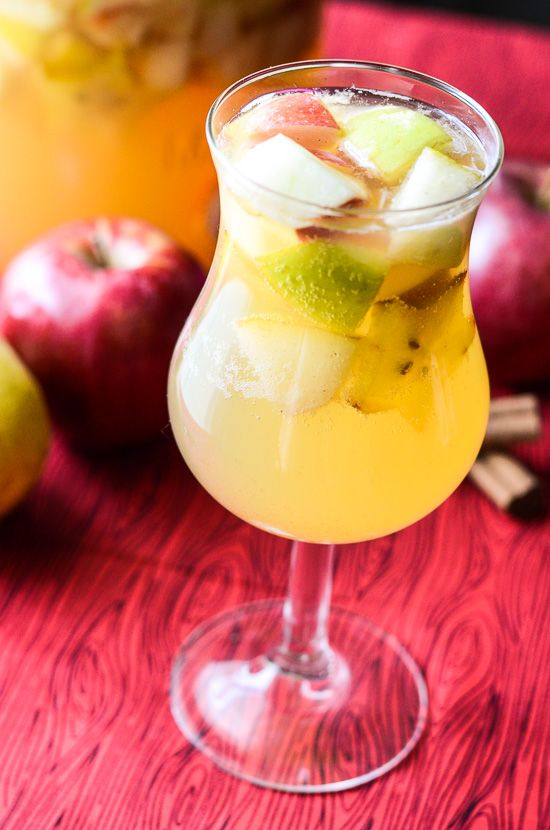 transition your summer sangria into fall with this harvest sangria recipe.