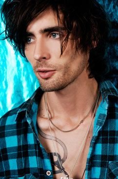 Tyson Ritter.. so sexy.. love me some blue eyes n dark hair