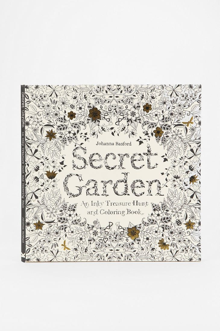 Secret Garden By Johanna Basford Its A Coloring Book