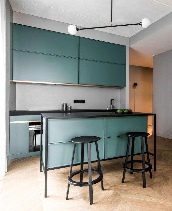 Kuchendesign Trends 2020 2021 Farben Materialien Ideen Interiorzine Kitchendesign Kitchen Design Kuchen Design Innenarchitektur Kuche Kuchendesign