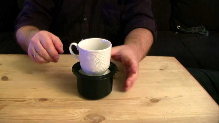 3D printed - Adjustable height of the coffee cup holder