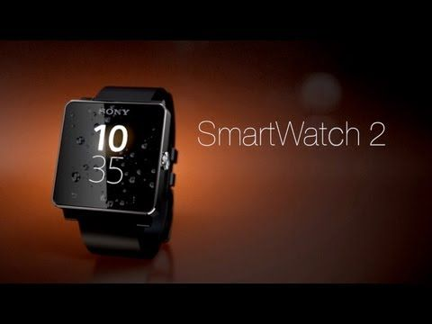 Sony SmartWatch 2 for Android Smartphones - YouTube