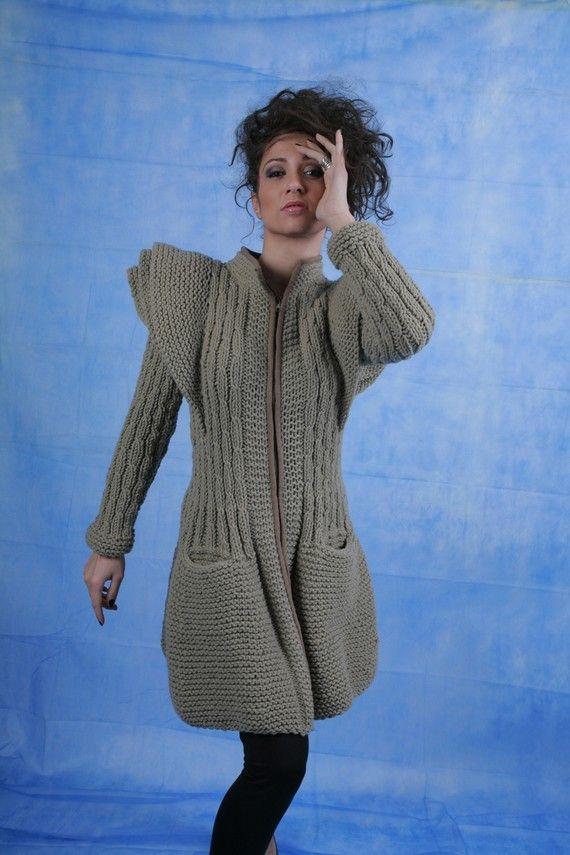 Galaxy cardigan I Designer knitwear