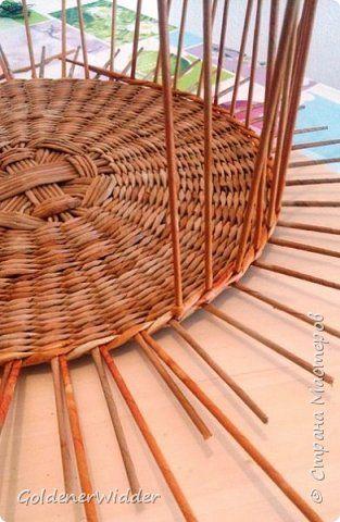 Мастер-класс Поделка изделие Плетение Внутренний бортик у крышки Трубочки бумажные фото 4