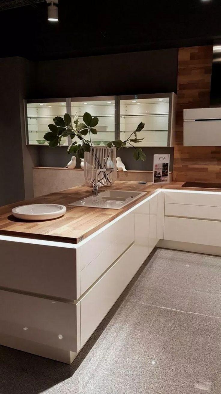 24+ inspiring modern scandinavian kitchen design idea 22