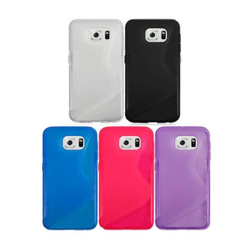 Semi-Transparent Silicone Cover - Samsung Galaxy S6 Edge. From www.iToys.co.za