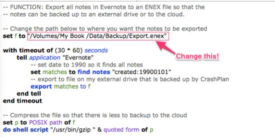 How and Why I've Automated Backups of My Evernote Data