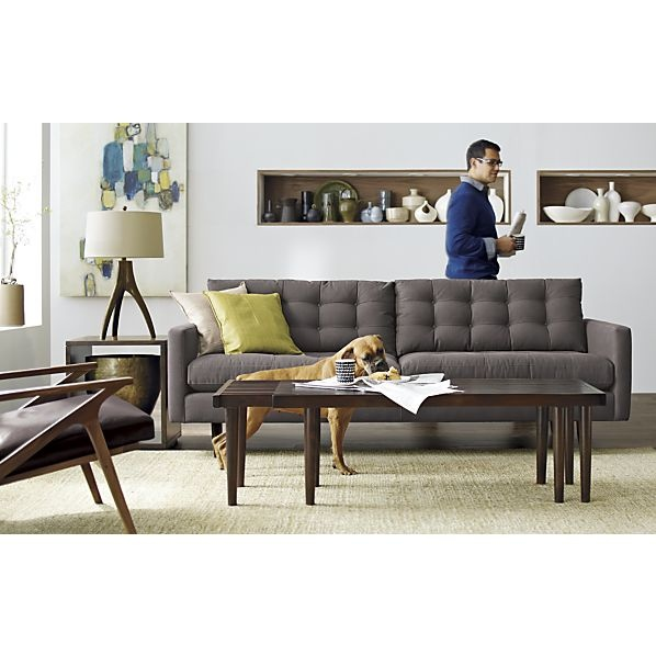 Petrie Sofa In Sofas | Crate And Barrel. TandemCrate And BarrelCratesLiving  Room IdeasLiving ...