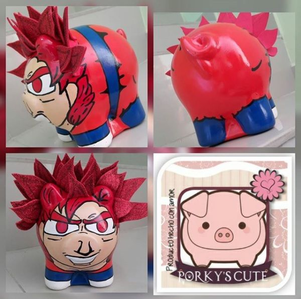 Goku Fase Dios- @porkys_cute
