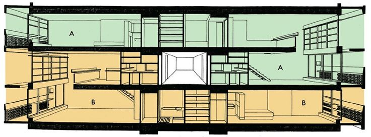 146 best images about le corbusier on pinterest le for Plan habitation