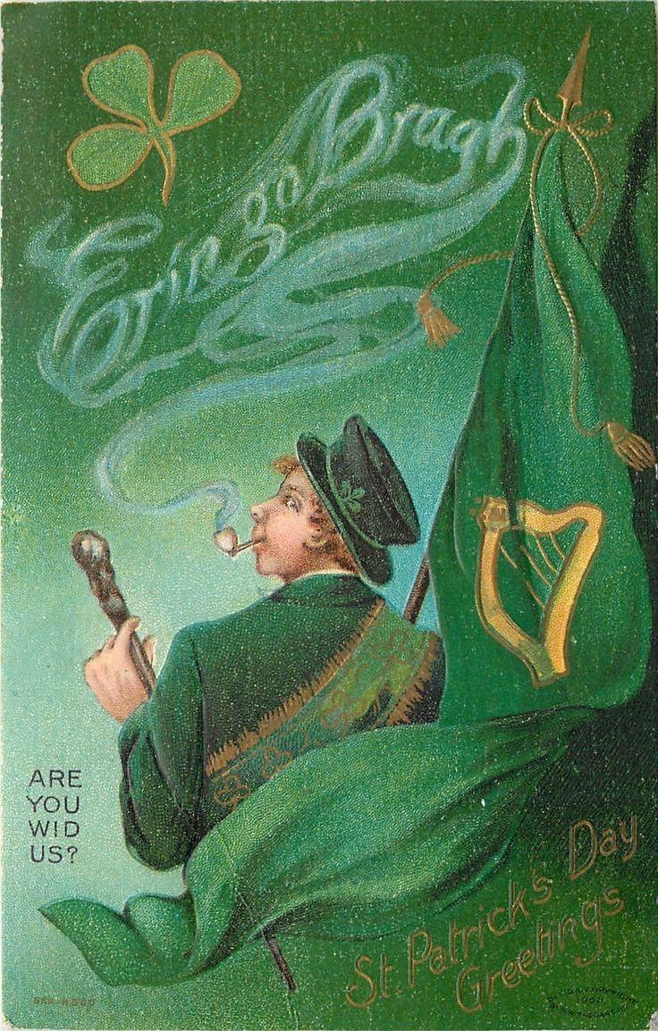 327 Best Vintage St Patrick S Day Cards Images On Pinterest