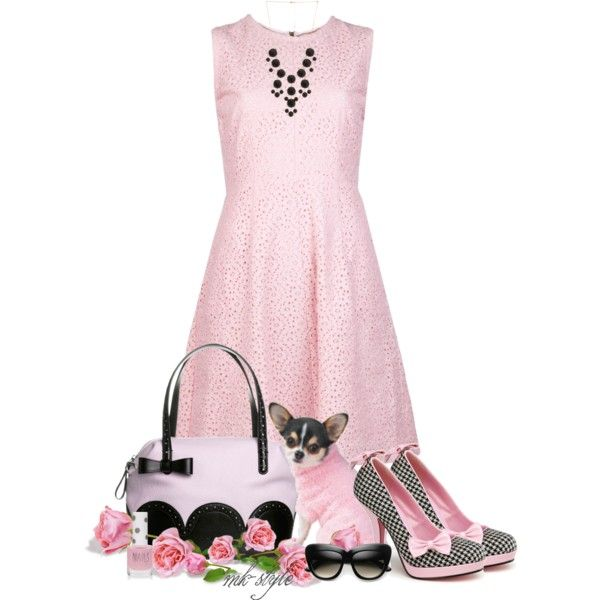 tosca blu pink handbag | ... Pinup Couture pumps and Tosca Blu bags. Browse and shop related looks