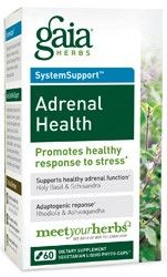 Adrenal Health , A Natural Option To Treat Your Adrenal Fatigue.  This herbal blend is recommended for people dealing with severe stress, adrenal exhaustion , burnout and anxiety disorders.