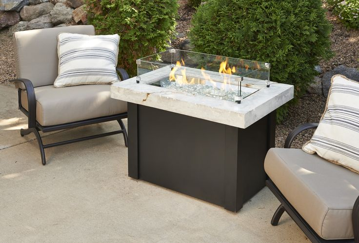 Providence Fire Pit Table From Wissota Outdoor Living!