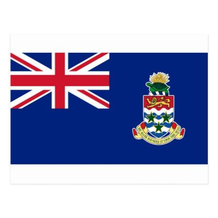 Low Cost! Cayman Islands Flag Postcard - click to get yours right now!