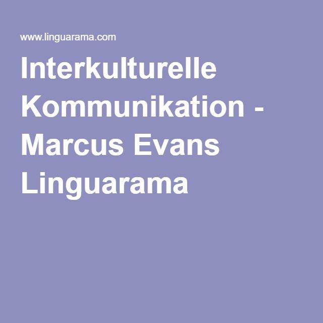 Interkulturelle Kommunikation - Marcus Evans Linguarama