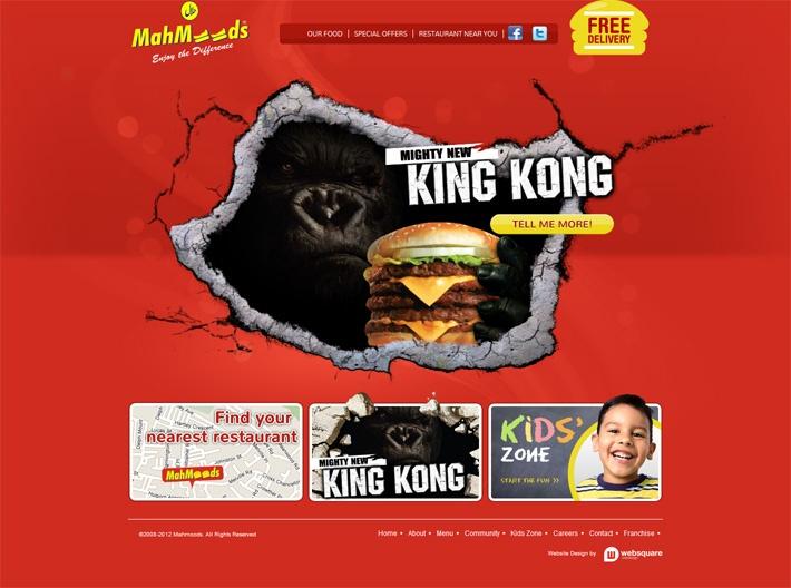 Mahmoods Restaurant http://www.mahmoods.biz/ #design #development