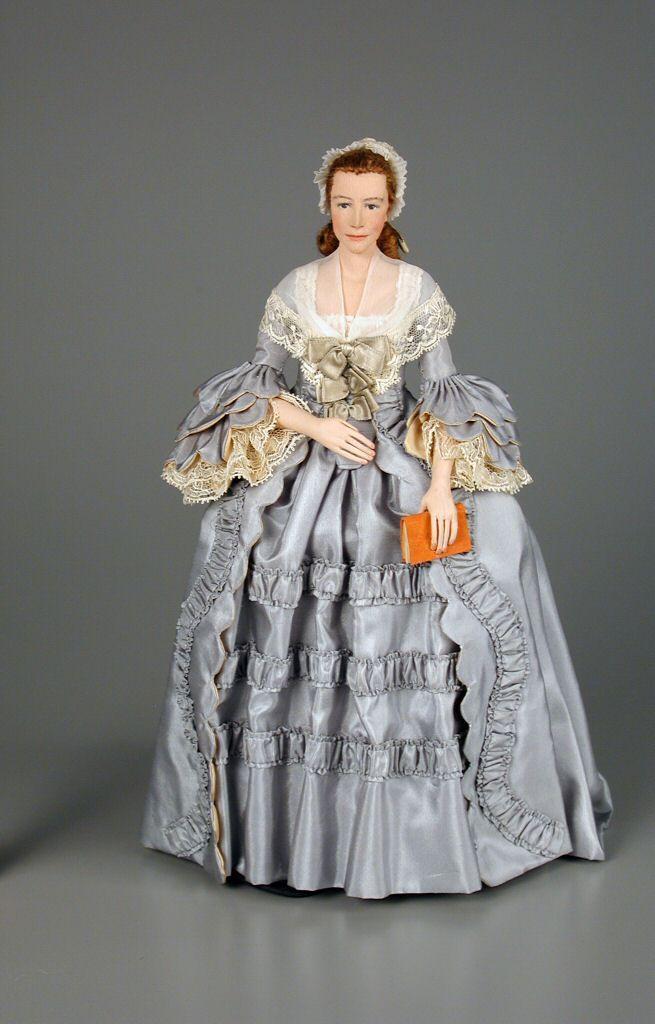 105.206: Mercy Otis Warren | doll by Dorothy Wendell Heizer