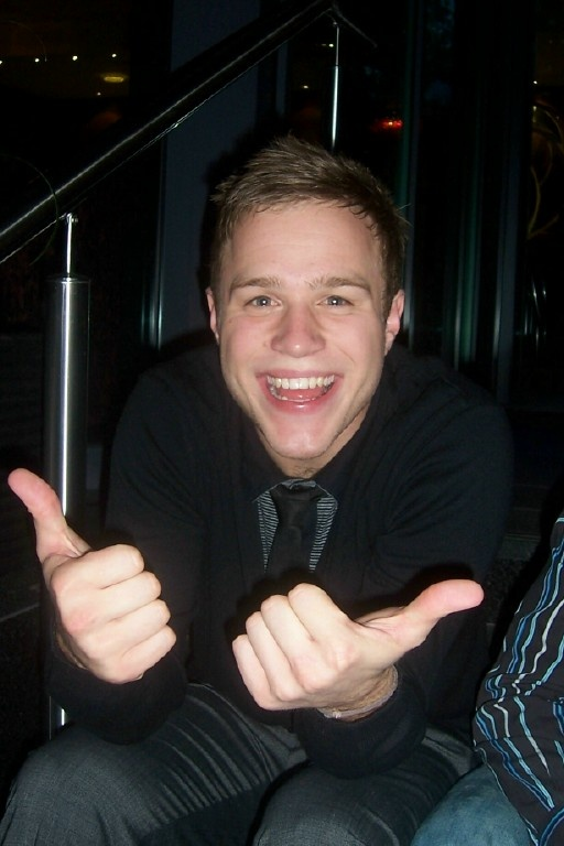Olly Murs! I admit...I have a little crush. ;)