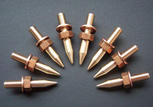 Bronze Spikes by Liedtke- Metalldesign