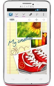 Visuel du téléphone  Alcatel One Touch Scribe Easy 8000D Rouge