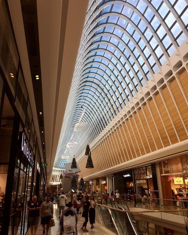 Eastland Shopping Centre In Ringwood Melbourne This Parabolic